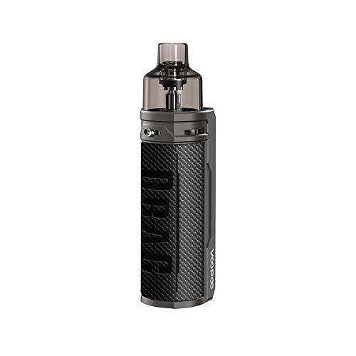 VOOPOO Drag S Box Kit 4.5ML 2500mAh 60W Kit Complet Cigarette Electronique Kit de démarrage-Senza nicotina e tabacco (Carbon Fiber)