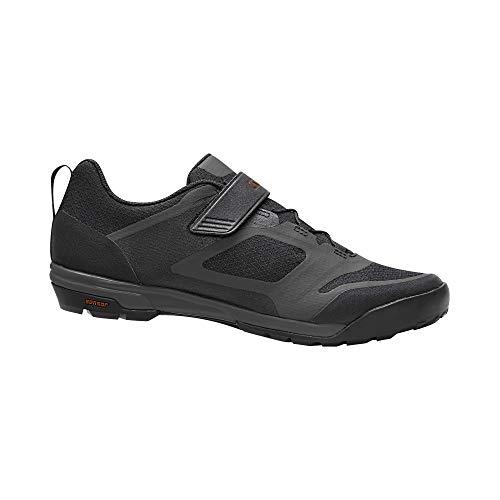 Giro Ventana Fastlace Zapatillas para Bicicleta eléctrica, MTB Trail Touring, Hombre, Negro/Dark...