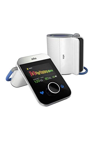 Braun ActivScan 9 Digital Upper Arm Blood Pressure Monitor for Comfortable...