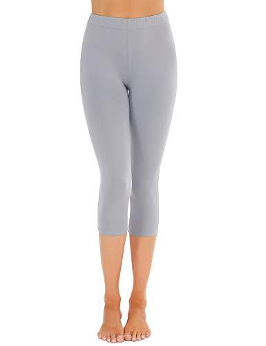 Abollria Leggings Sportivi Donna Collant Stampato a Vita Alta Pantaloni Slim Elastici Calzamaglia per Primavera Autunno