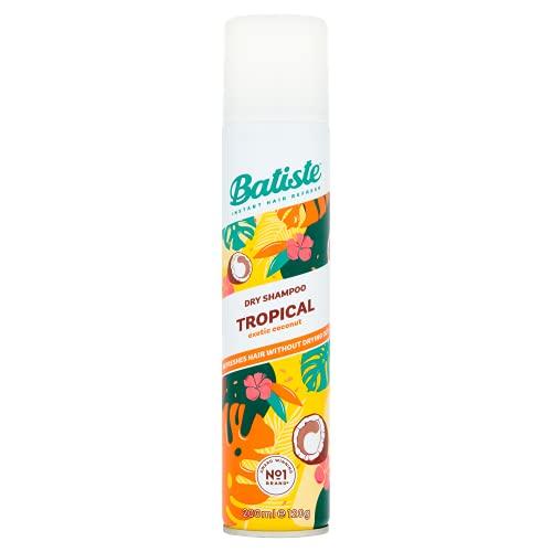 BATISTE Dry Shampoo Tropical, 200 ml