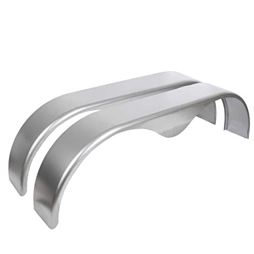 ECOTRIC 14 15 16 Inches Tandem Trailer Fender Teardrop Pair 9