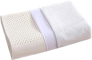 Oreiller en Latex pour la Douleur au Cou, oreillers de Contour pour Dormir, Oreiller orthopédique Ergonomique avec taie d'...