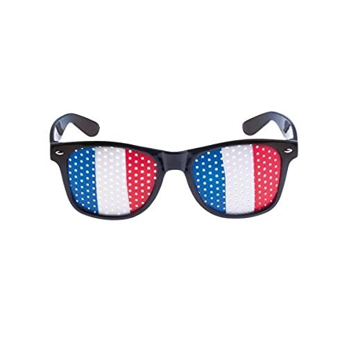 UMOI Juego de accesorios para aficionados de Francia para el Campeonato de Europa 2021, mirilla pública, Olympia y Fútbol (gafas)