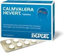 Calmvalera Hevert Tabletten Spar-Set 2x100 Tabletten; behandelt nervöse Störungen wie Schlafstörungen und Unruhe auf natürliche Weise