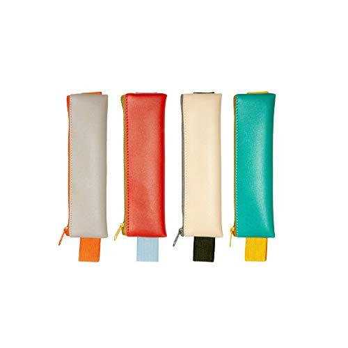 Kikkerland Stifte-Tasche mit Gummiband für Notizbücher - Pencil Pouch, Federmappe, Lesezeichen