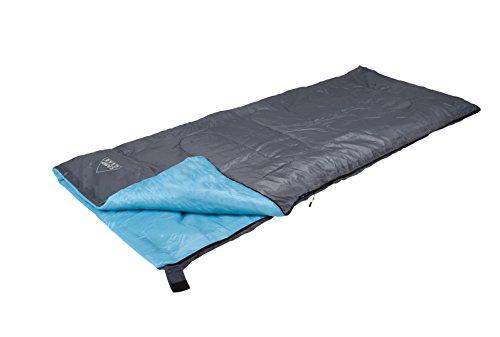 Camp Gear Travel Mini slaapzak, grijs/blauw 190 x 75 cm