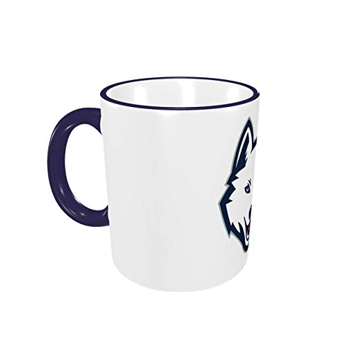 Uconn Huskiescoffee Mugs Ceramic Cup,Large Handles Cup For Home And Office Gift For Women/Men/Kids Funny Gift