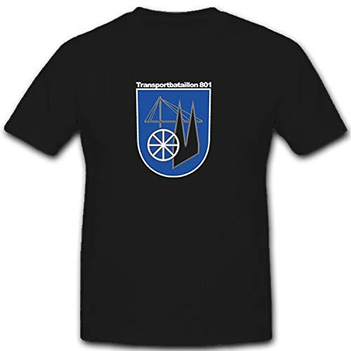 Transporte Batallón 801logística truppe logística Bundeswehr BW Escudo Alemania–Camiseta # 7453