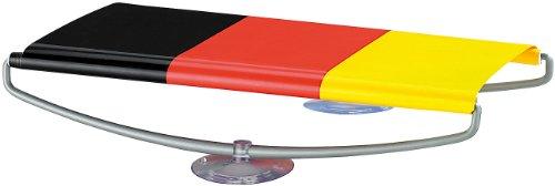 PEARL Deutsche Fahnen: Rollbanner Deutschland 66 cm mit Saugnäpfen z.B. fürs Auto (Fahnen in den Deutschlandfarben)
