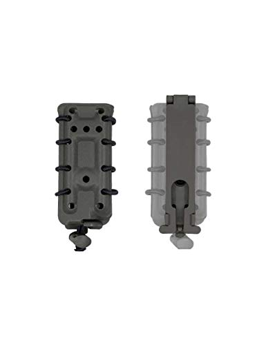 Dragonpro - DP-PP001-016 45 ACP Polymer mag Pouch (Molle) Wolf Grey