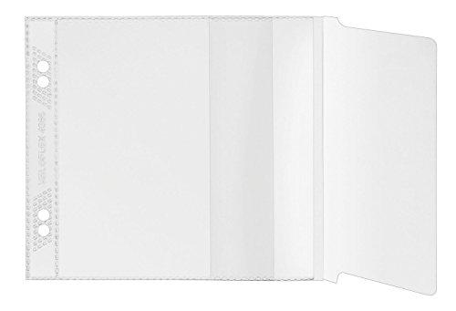 Veloflex 4366100 CD/DVD Hüllen zum Abheften für 1 CD, CD Aufbewahrung CD Schutzhüllen CD Boxen, 100er Packung