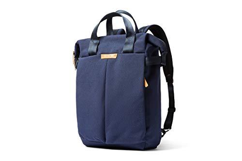 Bellroy Tokyo Totepack、耐水性織布のコンバーチブルバックパック&トートバッグ(15インチのノートPC、タブレット、ノート、ケーブル、飲料ボトル、着替え、毎日の必需品) - Ink Blue