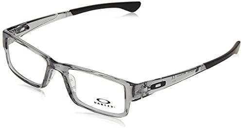 Oakley 8046 804603 Montature, Grigio, 55 Uomo