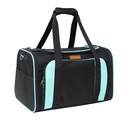 DKBE Bolso Portador de Viajes para Mascotas, Extensible out Portable Potable Pet Bag Full Twin Wire Cómodo Respire libremente, Portador de Gato