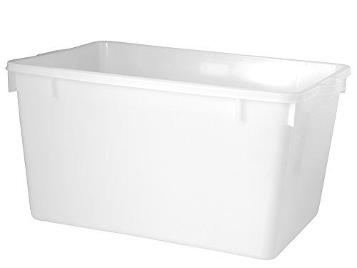 Giganplast GIG Cesta Chiusa, Bianco, 80x52x40 cm