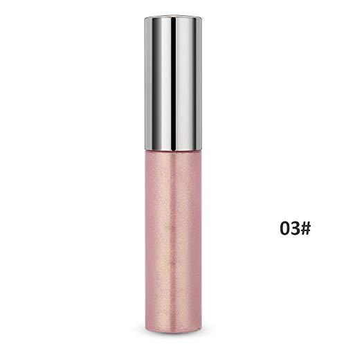 8 couleurs surligneur contour du visage liquide éclaircir ombrage maquillage liquide cosmétique texture délicate(3#)