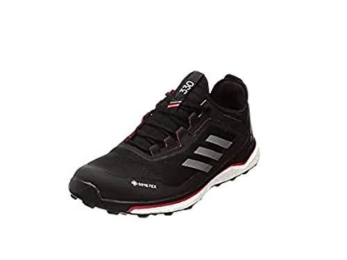 adidas Herren Terrex Agravic Flow Gore-Tex Traillaufschuh, CBLACK/GRESIX/SORANG, 42 EU