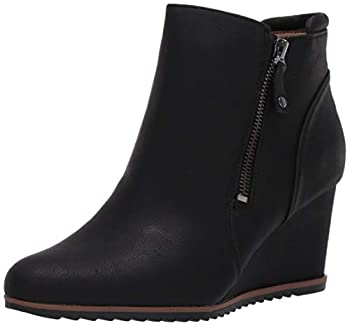 SOUL Naturalizer Women s Haley Ankle Boot Black Nubuck 7 M US