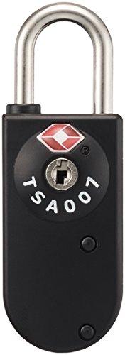 [コンサイス] TSAカードキーロック 7cm kg 289715 BK ブラック