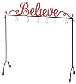 NTD Believe Christmas Stocking Holder Stand