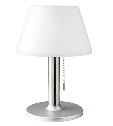 Galix G2 Lampe de Table Solaire Très Eclairante, Plastique, Gris