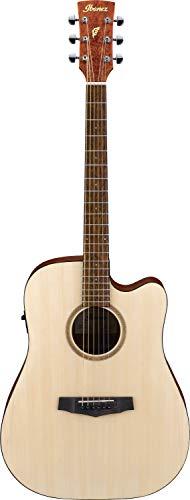 Ibanez PF-Serie - Guitarra acústica (cutaway, dreadnought, 6 cuerdas, preamplificador con afinador Onboard)