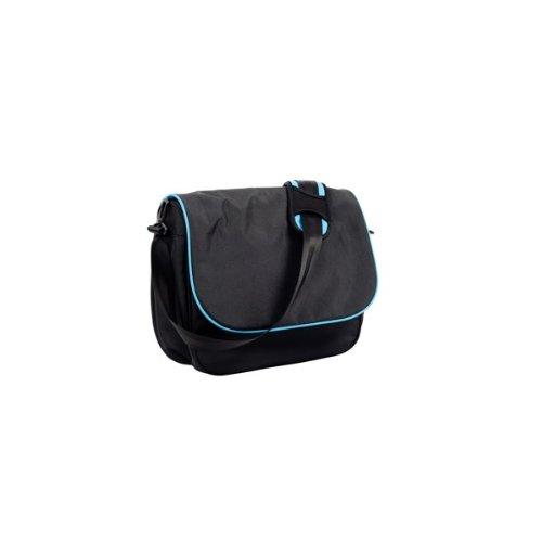 EasyWalker EJ 10029 bolsa Nursery junio, bolsa de pañales, negro/azul