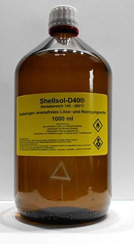 1000 ml Shellsol-D40®, Siedebereich 145-205°C°C, Kaltlreiniger, aromafreies Lösungsmittel