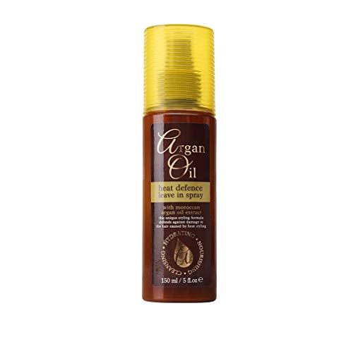 Spray Thermo Protecteur Huile d'Argan du Maroc Lissage Intense sans Frisottis Nourris et Régénère vos Cheveux Protège de la Chaleur du Fer