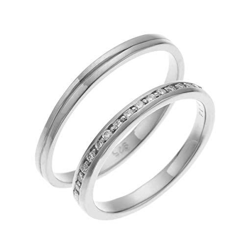 [アクセサリーショップピエナ]ダイヤモンド プラチナ製 pt900 1本ライン マリッジリング 結婚指輪 沖縄製 ペアリング レディース11号 メンズ15号