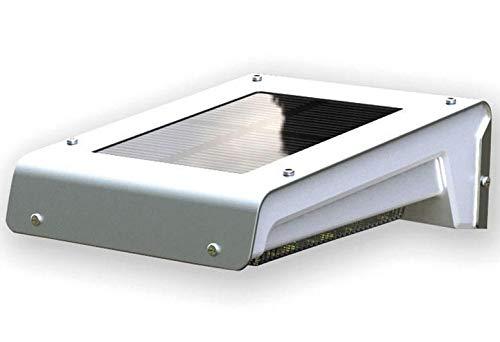Techly NP 023905 wandlamp voor buiten met bewegingsmelder zilvergrijs