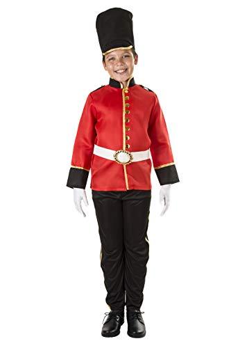 Costumizate! Disfraz de Soldadito Talla 7-9 Especial para niños Fiestas de Disfraces o Carnaval
