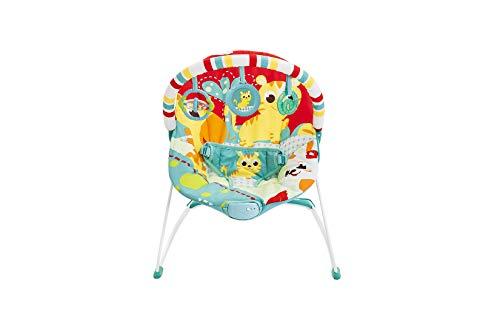 Cadeira de Descanso Vibratória Leão, Mastela, Vermelho, Médio