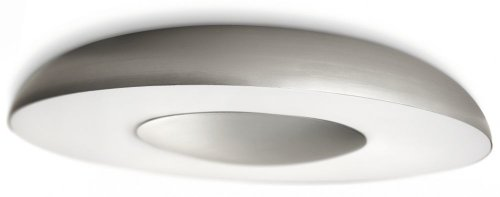 Philips myLiving Still energiebesparende plafondlamp met 40 W, inclusief lampen, 1 lamp, aluminium, 326134816