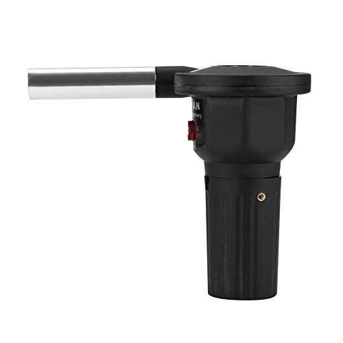 Mini ventilador para barbacoa, ventilador portátil eléctrico de barbacoa de camping y...
