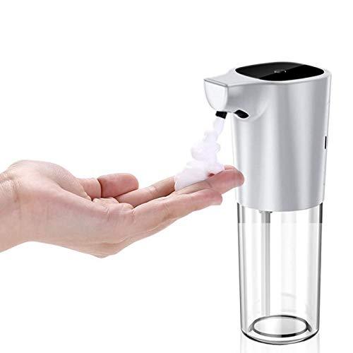Hanstore Dispensador automático de jabón de 275 ml dispensador de jabón Vertical sin Contacto dispensador automático de jabón para baño