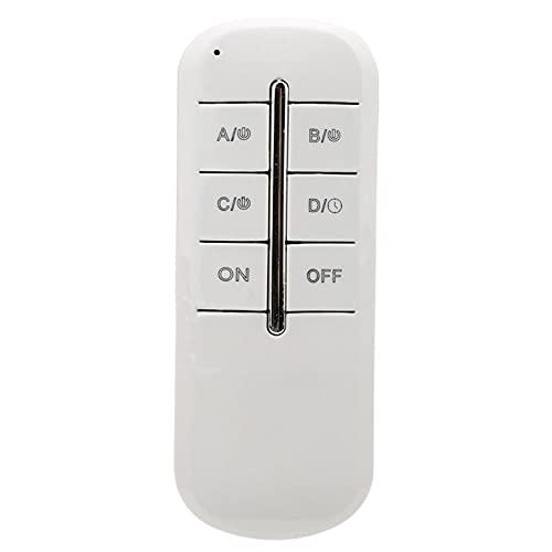 240V Wireless Control Switch Fernbedienung Lampenschalter Fernbedienungsschalter Stabil 1000W Anti-Störung für Droplight/Kristalllampe(MR704, Four-way load 4 * 1000W, pink)