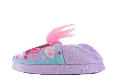 DreamWorks Trolls Girls Kikai Slippers Lilac 1 UK
