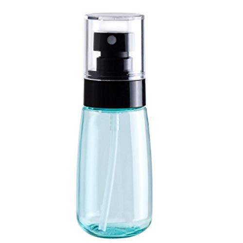 QWK Flacon pulvérisateur en plastique rechargeable Bleu ciel 30 ml 60 ml 80 ml 100 ml