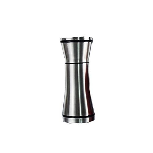 HLD 304 roestvrij staal zwarte peper molen handleiding huishoudelijke sesam pasta zeezout peper grind fles malen peper molens