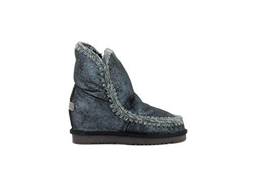 Mou, Damen Stiefel & Stiefeletten blau blau, blau - blau - Größe: 37 EU