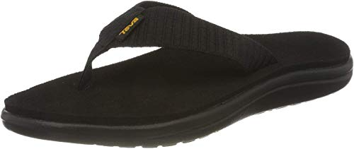 Teva Women's W Voya Flip Flop, bar Street Black, 7 M US