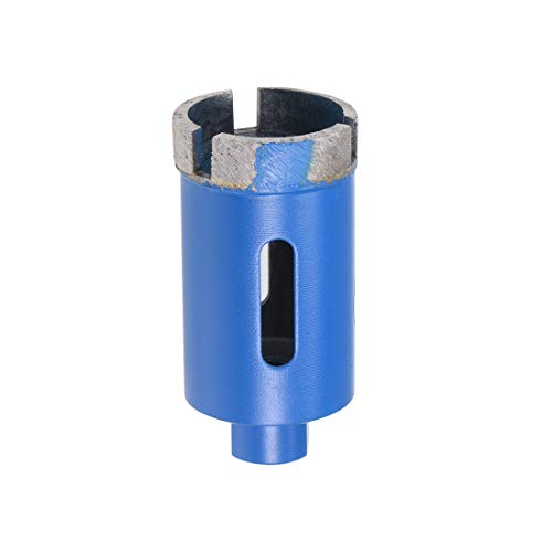 sourcing map 32mm Sintered Diamond Core Drill Bits Hole Saws for Brick Concrete Block Masonry Marble Dry or Wet Use