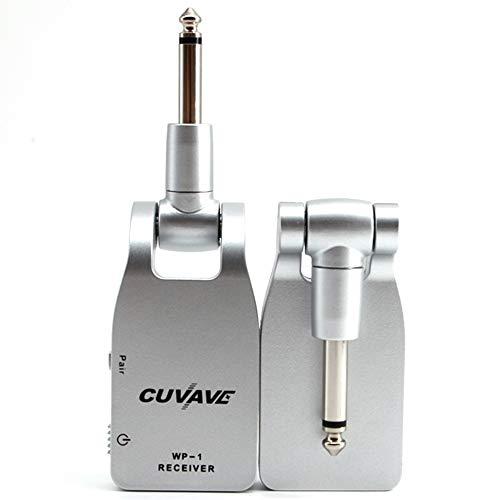 SMAA Guitarra inalámbrica transmisor Receptor, con el Sistema de Guitarra inalámbrica de...