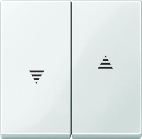 Merten 432419 Wippe für Rollladenschalter und -taster, polarweiß glänzend, System M