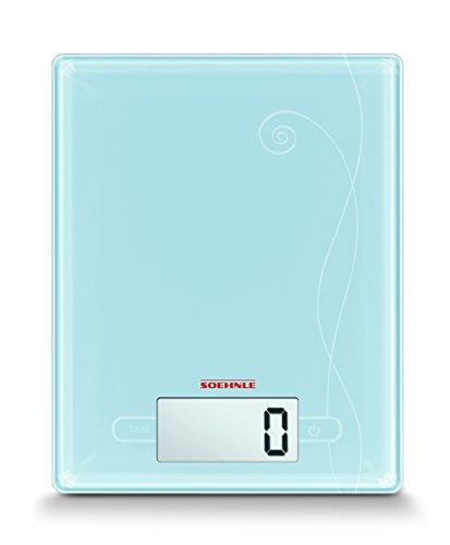 Soehnle 66211 Digitale Küchenwaage City pastell blue