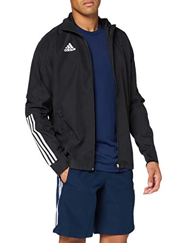 adidas CON20 PRE JKT Chaqueta de Deporte, Hombre, Black White, S