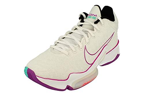 Nike Zoom Rize 2 - Zapatillas de baloncesto para hombre Ct1495, blanco (Summit Blanco Hyper Violet 100), 40.5 EU