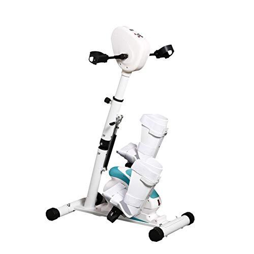 DXFK.AM Electrónico Ejercitador De Pedal Bicicleta De Rehabilitación Terapia Física Entrenador Brazo Pierna Ejercitador Salud Recuperación Ejercitador De Pedal para Discapacitados,C